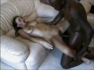 Teens Girl take big black..