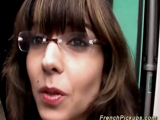 french Milf picked up for..