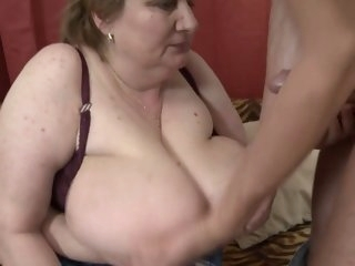 The Older BBW Woman Sex With..