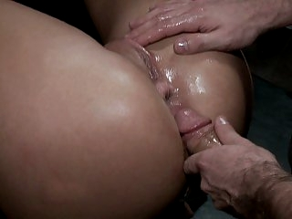 Tied and fucked in the ass!