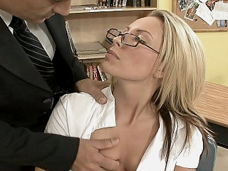 Hot student on her teacher's..