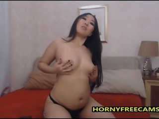 Chubby Asian Girl Stripped..