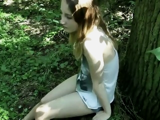 My sex in forest
