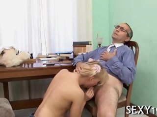 Threesome sex with teacher..