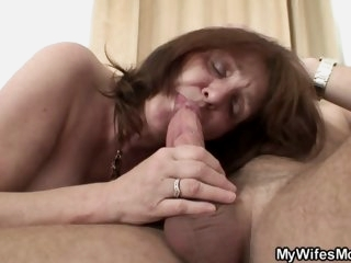 Granny loves to suck hard on..