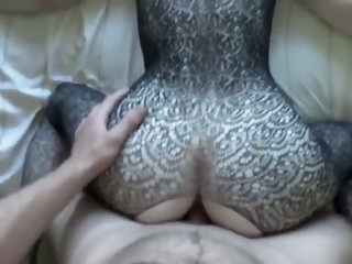Wife assfuck and cum in mouth