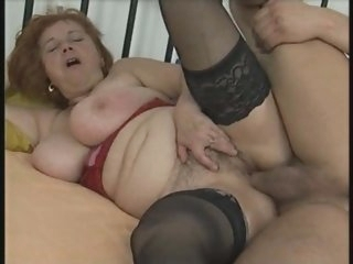 Busty Chubby Mature in..