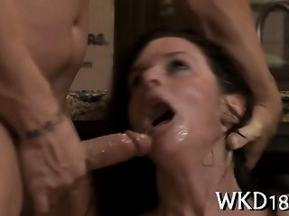 Great blow from hot slut