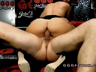 Sluts in extreme gangbang..